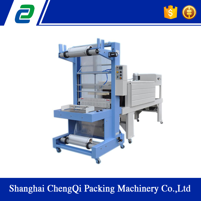 PE Film Semi automatic Shrink Packing Machine