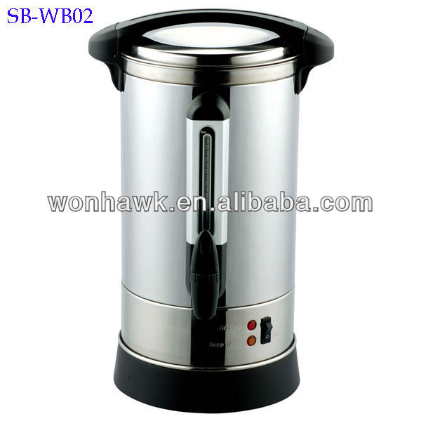20L Stainless Steel Manual Fill Water Urn