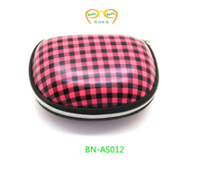 2015 Promotion trendy hard customed printing Portable Eva fold sunglasses case