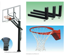 BLP-7242-600 basketball stand, easy removal and height adjustable basketball system