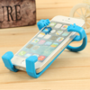 Muti-color dinosaur shaped silicone cell phone accessory display stand