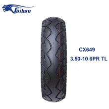China Motorcycle Tubeless Tyre Big Cheap Tire Scooter 3.50-10