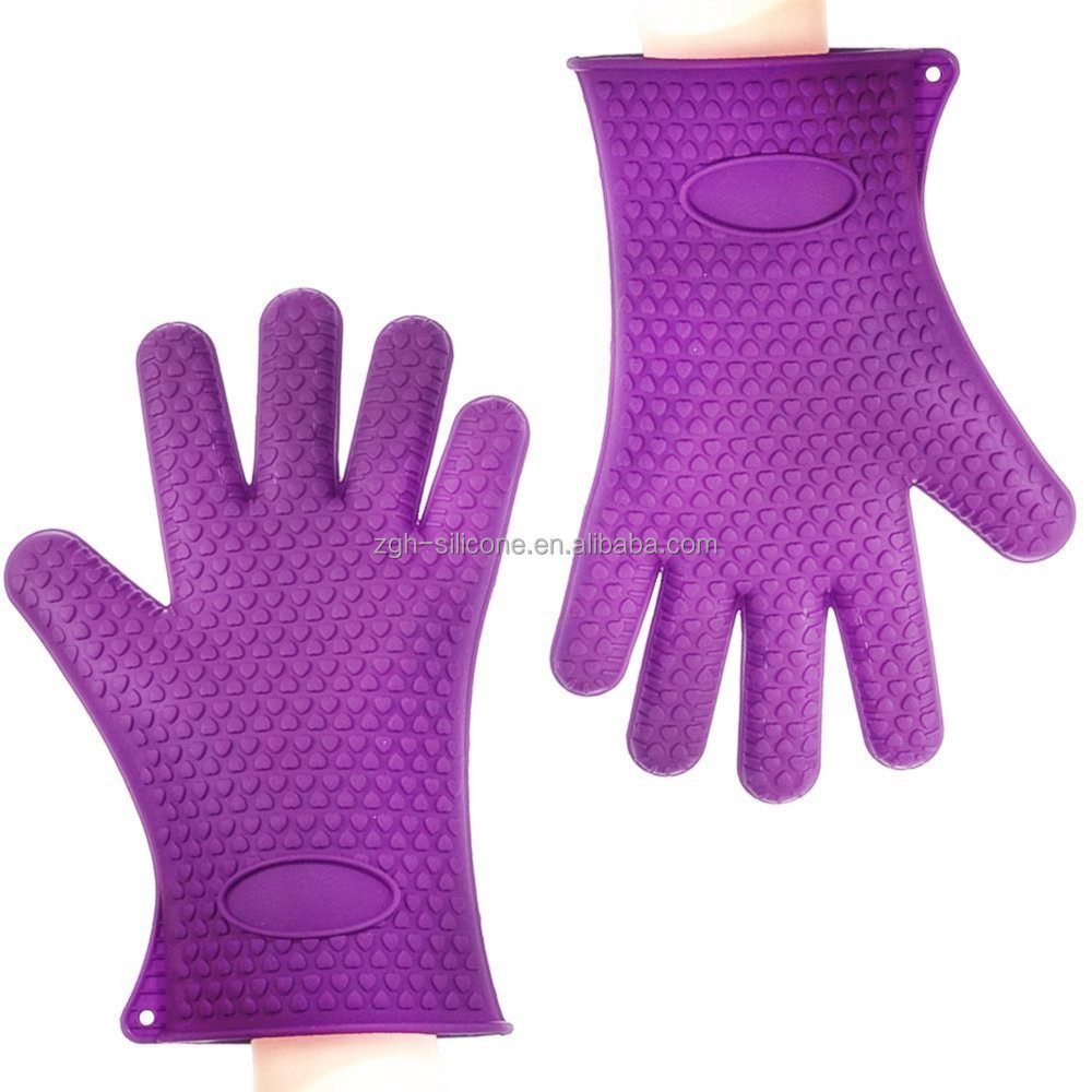 Wholesales High Quality Fancy Silicone Rubber Oven Gloves