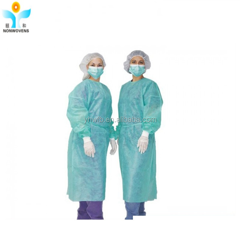Disposable Patient Gown Hospital Visitor Cloths