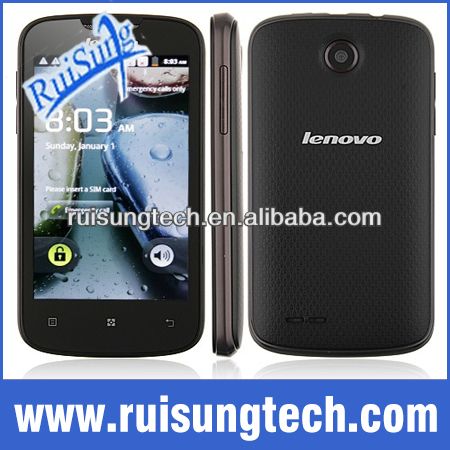 Original Lenovo A690 Cellphone 4.0 inch 800*480 Smart Music MTK6575 1GHz Wifi GPS 3G Android 2.3 WCDMA 3G Mobile Phone