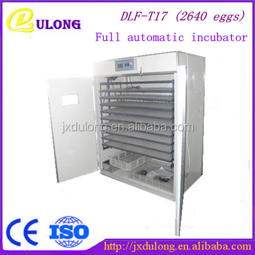 golden supplier of 2640eggs chickens egg incubator fro sale