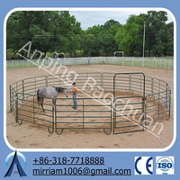 high quality with best price galvanized horse fence panel