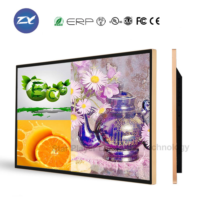 46 inch wall mounted led advertising panel with wifi and digital signage software