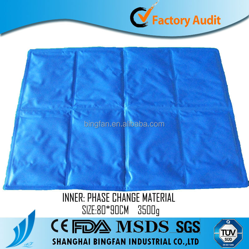 colorful cheap Mobile gel ice pad king size