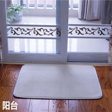Modern and elegant in fashion new coming striped pile 3d floor mat