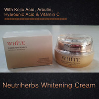 Herbal Fast result lightening cream for black skin Effective Natural kojic acid whitening cream