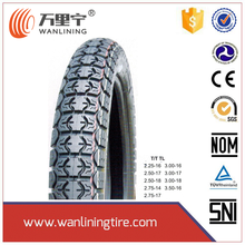 High quality Motorcycle tube tubeless tyre 120 80 17 2.75-18 90/90-17 for sale