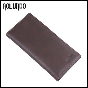 Factory wholesale hand carved wallets for men genuine leather wallet