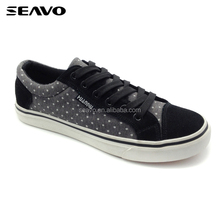 SEAVO SS18 nubuck youth skate board shoes men casual shoes