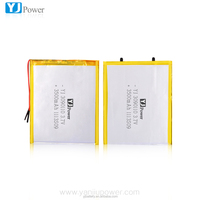 Rechargeable lithium polymer battery 3500mAh 3.7V battery 3090110 3500mAh 3.7V for industrial products