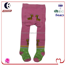 infant baby cotton legging tights with giraffs
