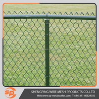 2016 design china manufacture 6ft chain link fence security fence ( direct factory )