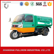 Quality-Assured 3 wheel motorcycle for sale malaysia/garbage truck