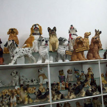 polyresin resin dog statues figurine SN1227