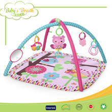 PB105 Superior Quality Print Baby Activity Play Mat Gym Baby Playing Mat/Game Blanket
