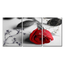 New Designs Flowers Stretched Canvas print for wall art decoration