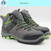 ladies low cut steel toe leather sfaety shoes boots