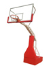 Cheap imitation hydraulic basketball stand outdoor for school