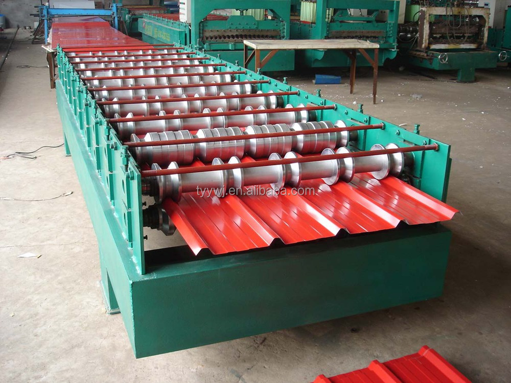 production machines of color-glazed roof tiles forming machine for 30-210-840