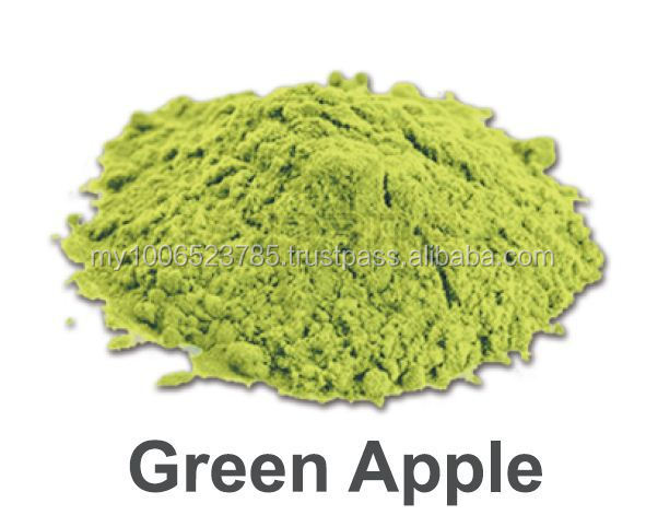 GREEN APPLE POWDER FRUIT POWDER ICE BLENDED SMOOTHIE BUBBLE TEA