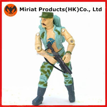 Custom made plastic soldiers action figure toy