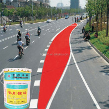 Liquid cold plastic road marking paint dry quickly at normal temperature