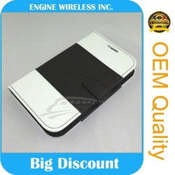 Popular designer cell phone leather phone case for zte Grand Mimosa X U930 leather case