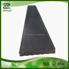 Eco friendly antique charcoal strand woven outdoor bamboo decking