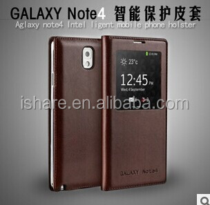 HOT!!! NEW Smart Luxury Flip Leather Cover Case For Samsung Galaxy Note 4
