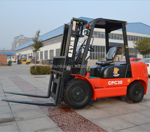 New Design 3.0ton 3.5ton 4WD Hydrostatic All Rough Terrain Forklift