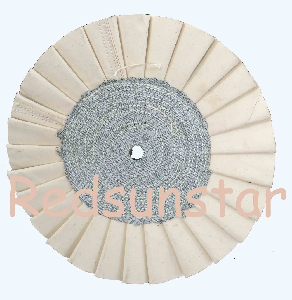 Cotton Cloth Buffing Wheel for stainless steel mirror polish