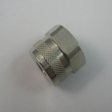 Custom made luminous diode pipe plugs, CNC aluminium knurling screws, CNC machined service