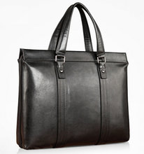 manufacture wholesale leahter briefcase men leather handbag