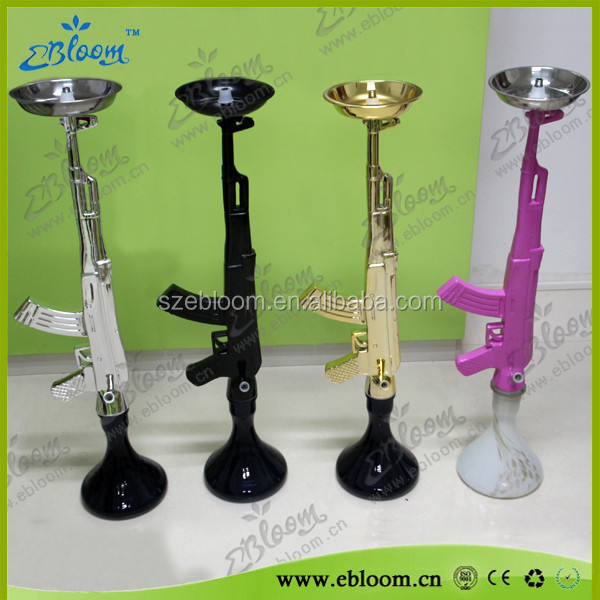 Glass smoking pipes Ak47 hookah ak 47 hookah