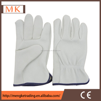 cow grain leather driver gloves/ bus driving gloves,safety working gloves