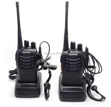 2PCS Baofeng BF-888S UHF 400-470 MHz Walkie Talkie Two Way Radio+Free earpiece