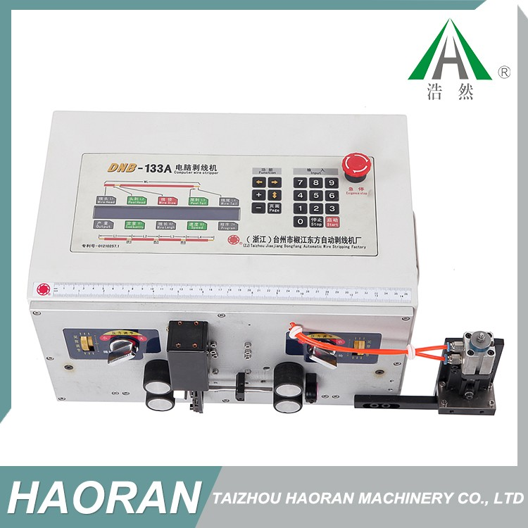 Multifunctional usage cable jacket stripping machine