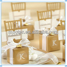Exceptional Chair Wdding Gift Boxes Favor For Dear Guests& Friends