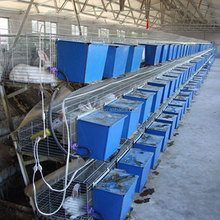 New design hot sale wire metal animal cages/industrial rabbit farming cages