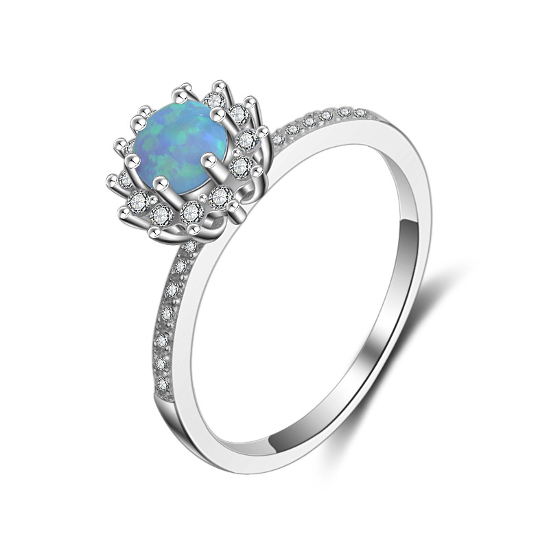 Wholesale manufacturers Sterling opal silver ring