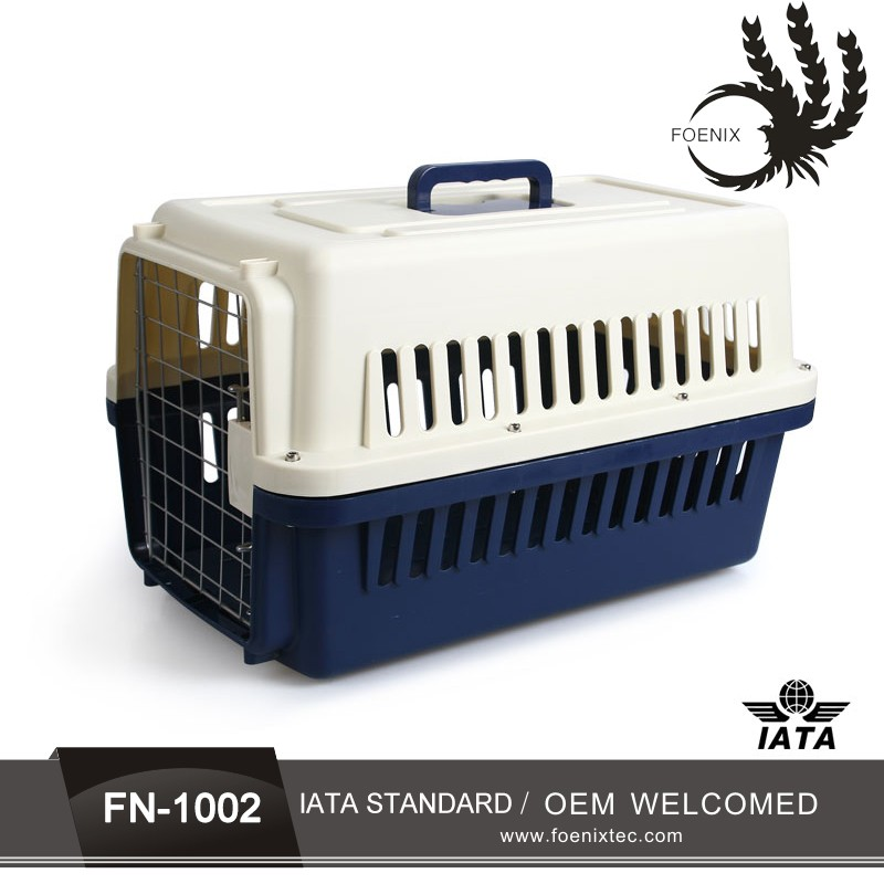 Guangdong Manufacture HOT SALE animal dog pup plastic flight cage Name Brand Pet Carrier