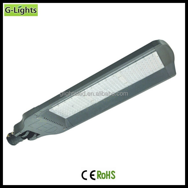 High power aluminum IP65 180w led street light / road lamp