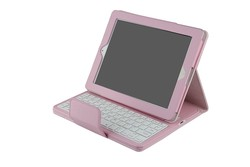 Detachable Foldable Magnetic Flip Leather Cover Case ABS Bluetooth Keyboard For iPad 4 iPad 3 iPad 2-IP234