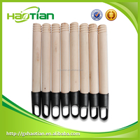 Guigang Haotian/ Natural wooden broom handle factory direct sale