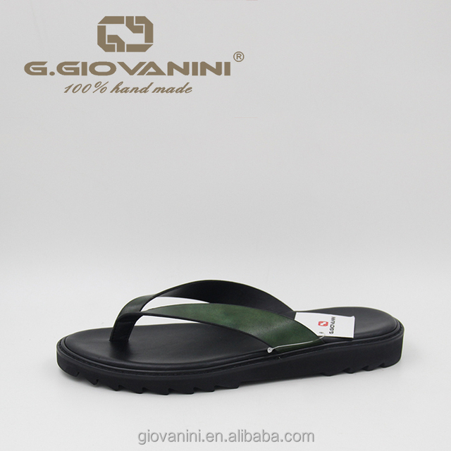 Luxurious style walker slippers new model slippers for men leather sandals and slippers